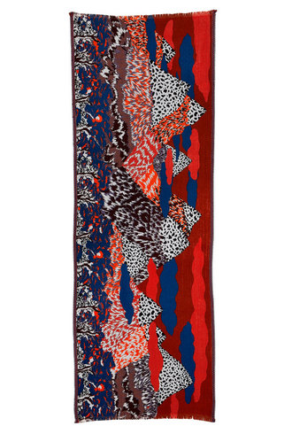 Inouitoosh Fuji Scarf Rouge Red