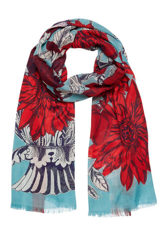 Inouitoosh Obeline Scarf Light Blue / Bleu Ciel