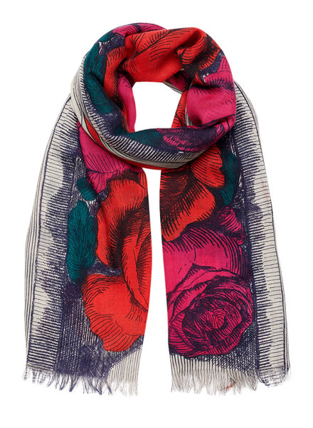 Inouitoosh Roseanna Scarf Rose Pink / Rouge Red