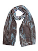 MA+CH Silk Backed Scarf Canvas Taupe