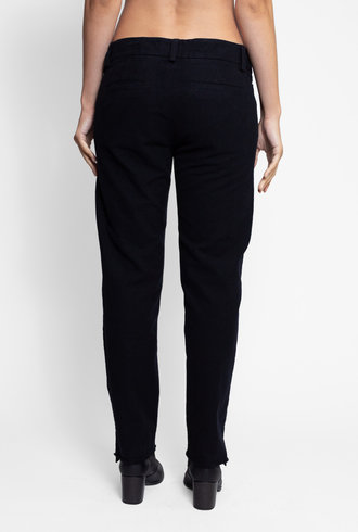 Bsbee Oxford Pant Small Check Navy / Black