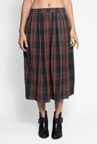 Bsbee Gemma Skirt Sandy Check