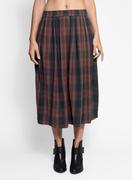 Bsbee Gemma Skirt Sandy Check