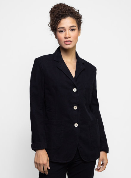 Bsbee Pampa Jacket Small Check Navy / Black