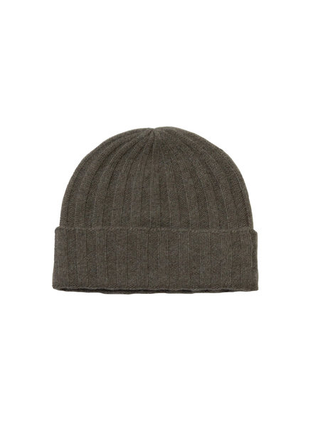 360 Sweater Candice Cashmere Beanie Olive