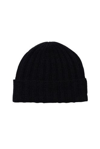 360 Sweater Candice Cashmere Beanie Black