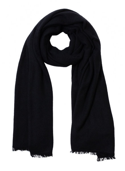 360 Sweater Nadine Cashmere Scarf Black