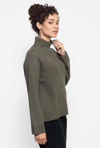 360 Sweater Margaret Sweater Olive