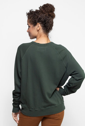 The Great The College Sweatshirt Clover