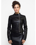 Lamarque Kaila Leather Jacket Black