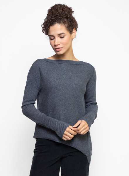 Inhabit Asymmetrical Pullover Graphite