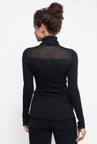 Inhabit Illusion Turtle Neck Sweater Graphite