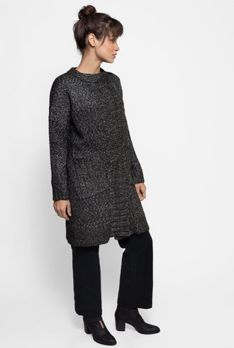 Inhabit Duster Sweater Black