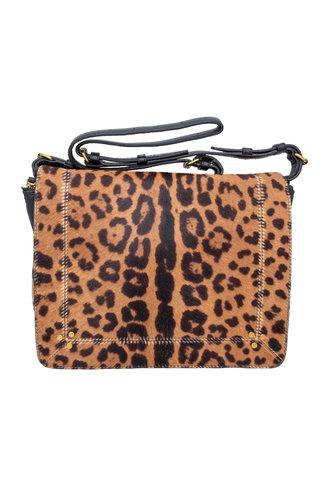 Jerome Dreyfuss Igor Bag Pony Calfskin Leopard