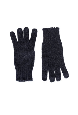 Inhabit Cashmere Gloves Charcoal