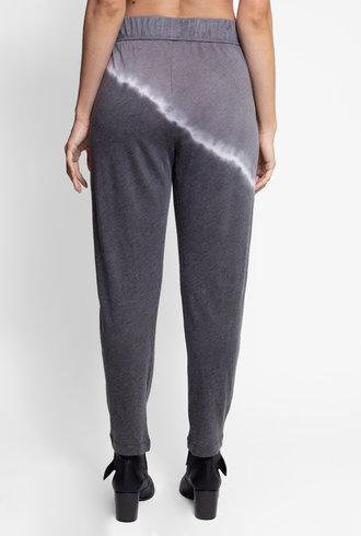Raquel Allegra Easy Pant Night Grey Tie Dye
