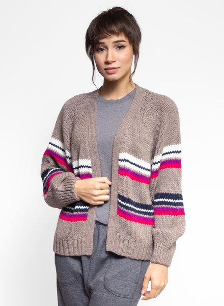 Xirena Apres Ski Sweater Lander Stripe