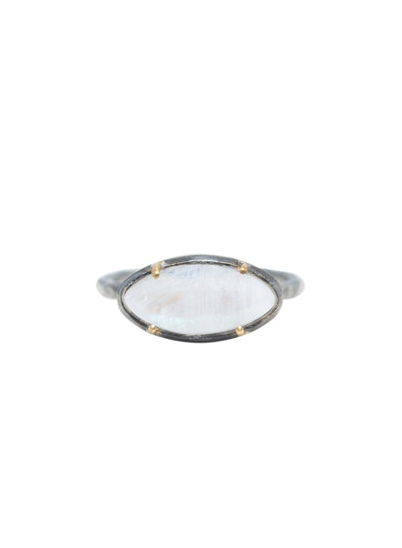 Robindira Unsworth Moonstone Silver Ring