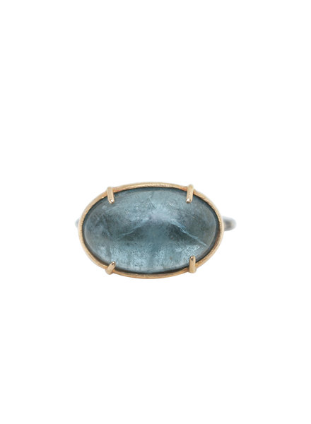 Robindira Unsworth Aquamarine Silver Ring