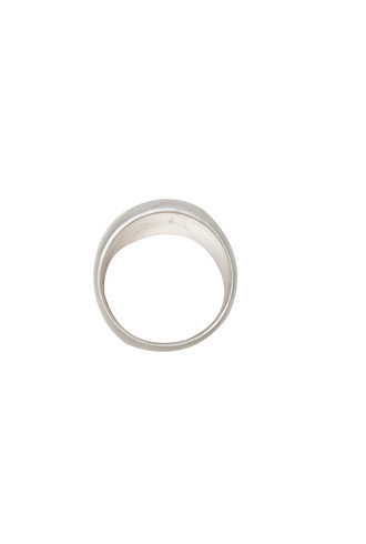 Sarah McGuire Silver Hammered Sleeve Ring