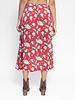 Raquel Allegra Dreamer Skirt Venetian Red Bold Floral