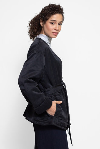 Raquel Allegra Quilted Jacket Black