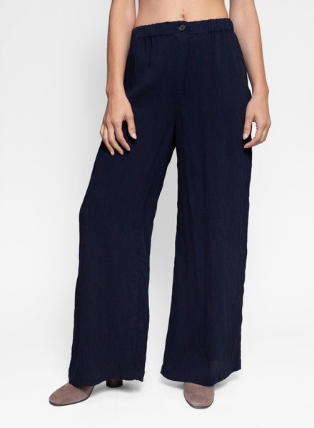 Raquel Allegra Kate Pant French Navy