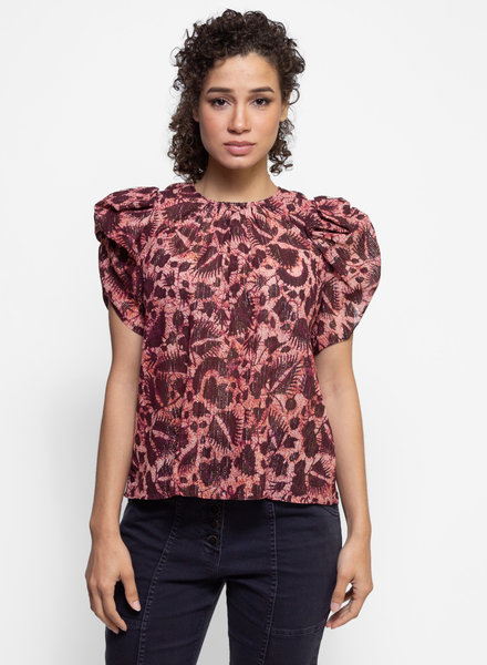 Ulla Johnson Nova Top Bordeaux