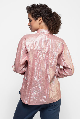 Xirena Kiran Shirt Pink Opal
