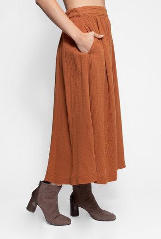 Xirena Teagan Skirt Dark Honey