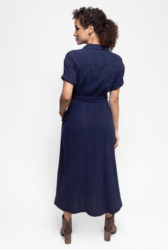 Xirena Caylin Dress Navy Star
