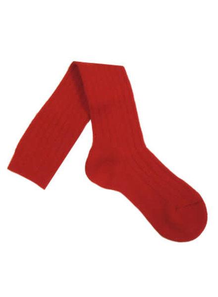 Pantherella Knee High Socks Red