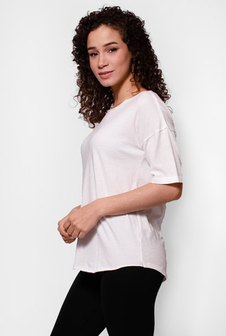 Raquel Allegra Basic Tee White