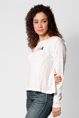 Trovata Kennedy Intarsia Sweater