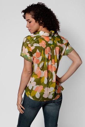 Trovata Margot Camp Shirt