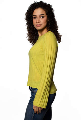 Inhabit Rib Cashmere Pullover