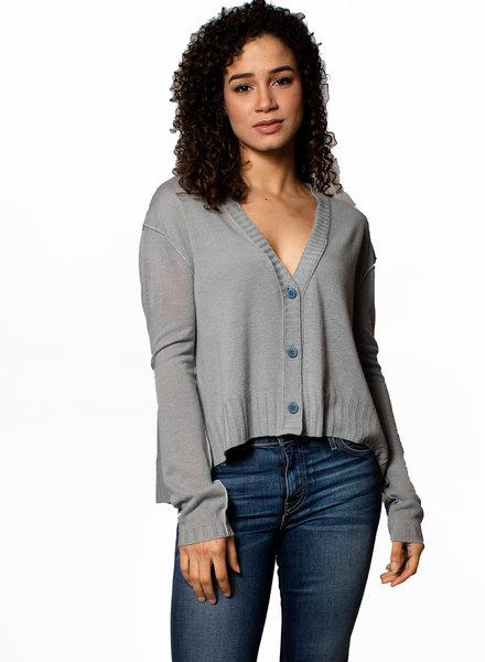Inhabit Crop Cardigan Sweater