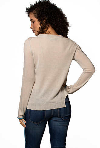 Inhabit Step Hem Sweater
