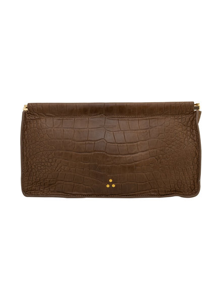 Jerome Dreyfuss Extra Large Lambskin Clutch