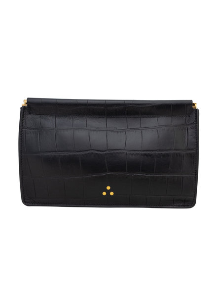 Jerome Dreyfuss Large Lambskin Clutch