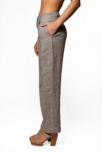 Pomandere Linen Textured Pants