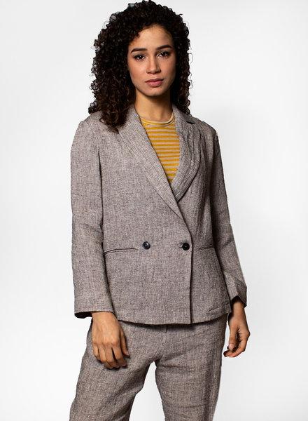 Pomandere Linen Textured Blazer
