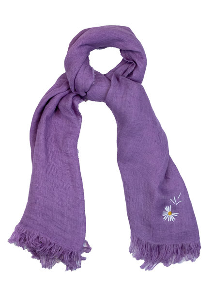 Destin Light Large Square Scarf Violet