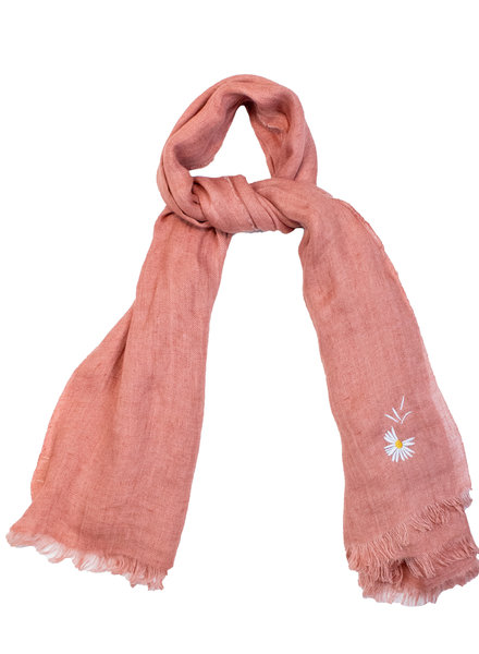 Destin Light Large Square Scarf Cinnamon