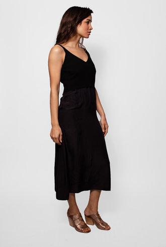 Pomandere Knit Cover Top Dress