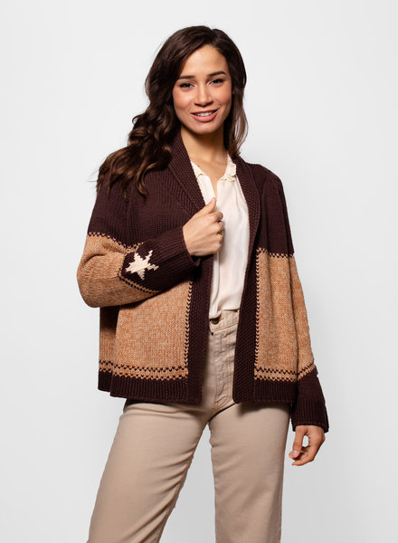 The Great The Cowgirl Cardigan Sweater Russet