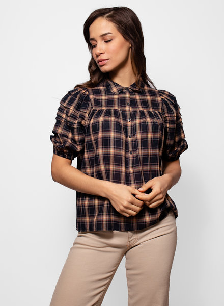 The Great The Mare Top Dakota Plaid