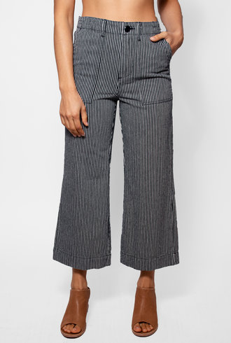 The Great The General Pant Vintage Hickory Stripe