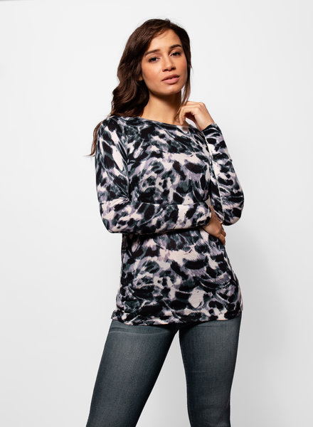 Kokun Printed Fitted Crew Storm