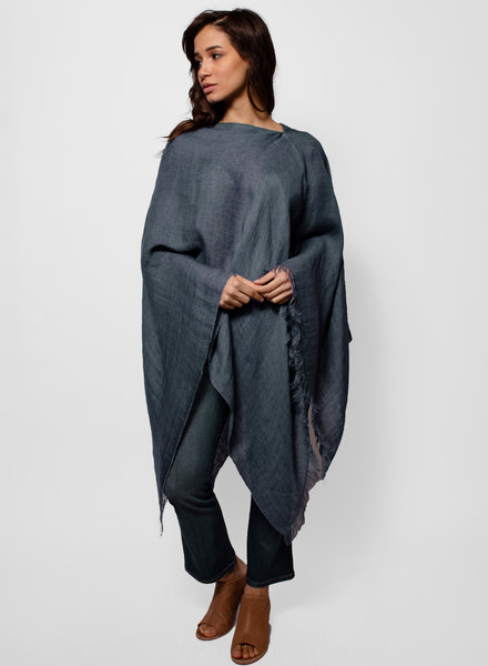 Destin Light Poncho Jean
